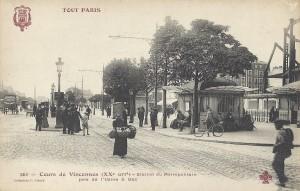 Cours de Vincennes